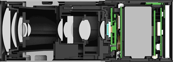 Lytro camera inside